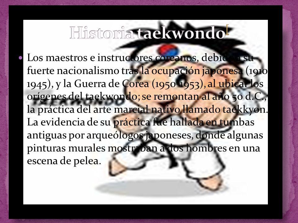 Historia taekwondo[